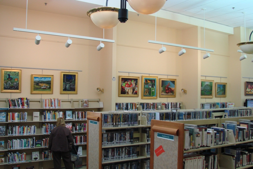 Derry New Hampshire Public Library Display (2/2)