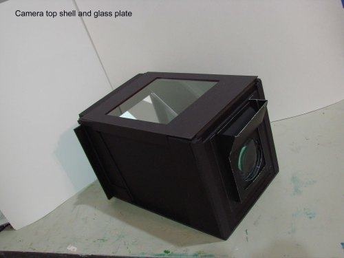 c107 Top cover and glass plate in place